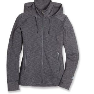 Kuhl Mova Hoodie Full Zip Running Jacket